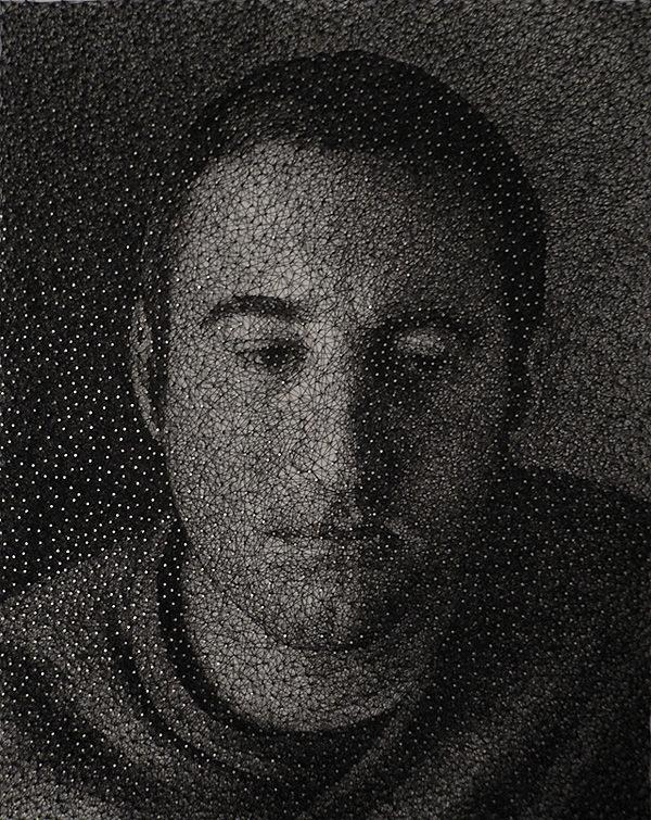 אדם באומנות מסמרים