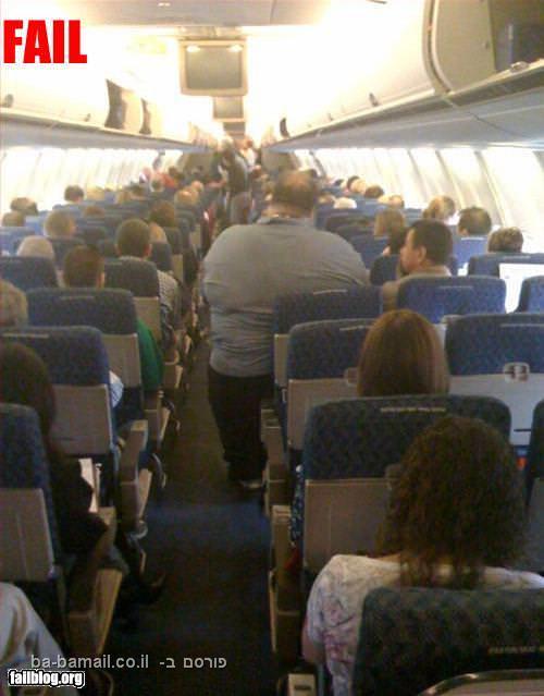 מושבים במטוס
