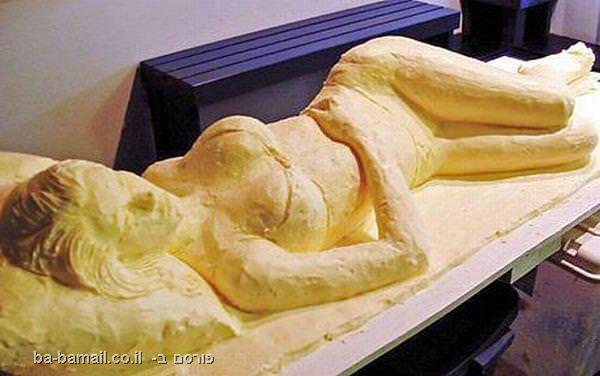 פסלים, חמאה, אמנות