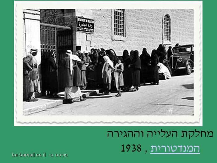 ירושלים, פוטו פריזמה, חנה ואפרים דגני, מחלקת העלייה