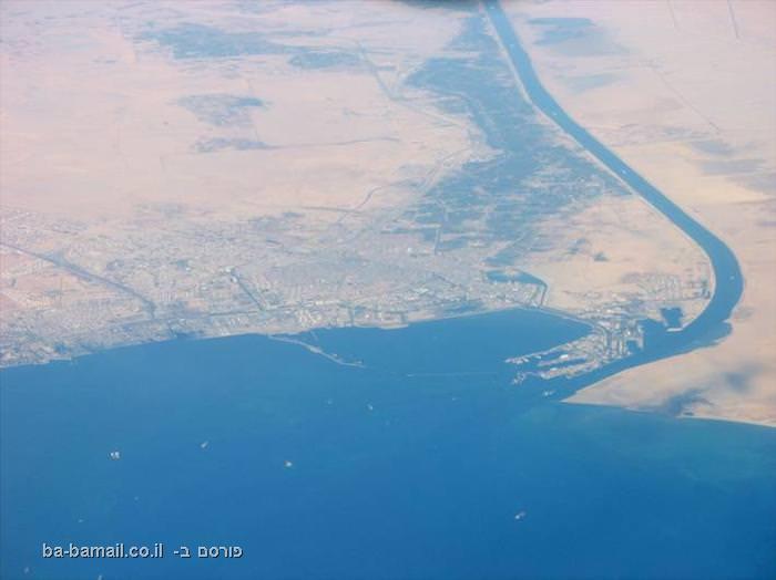 תעלת סואץ, מצרים, ים