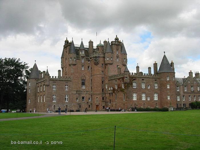 טירות, הסטוריה, תיירות, סקוטלנד, מבצר, אפל, עננות, ערפל