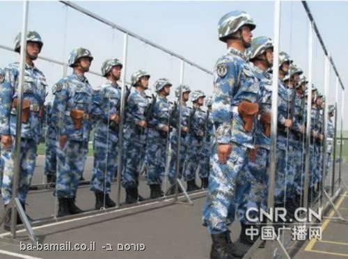 אימון בצבא הסיני