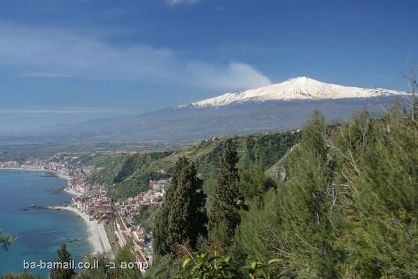 הר געש אטנה, איטליה
