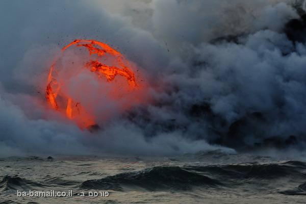 """הר געש קִילַוּאֶאָה, הוואי, ארה""""ב"""