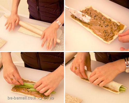 סושי חמאת בוטנים
