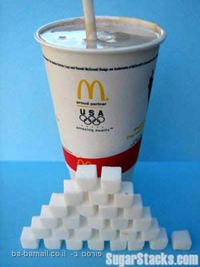 מילקשייק,כמות סוכר