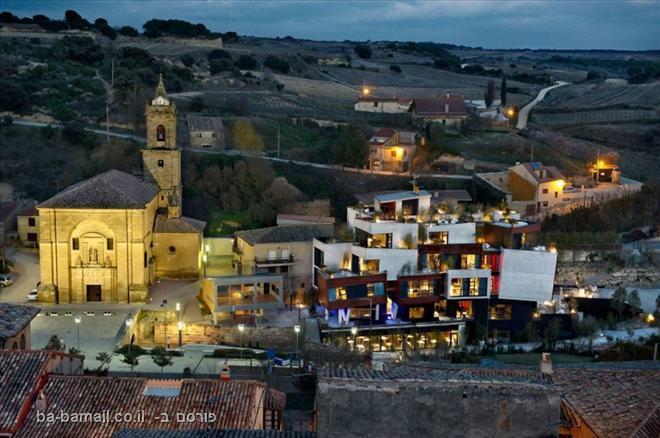 מלון בכפר ספרדי