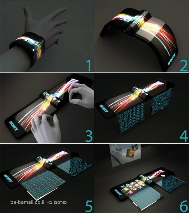 מחשב חדשני בצורת צמיד