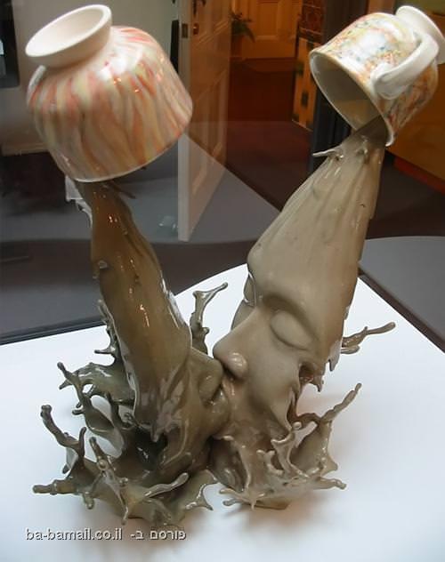 פסל מהמם של קפה