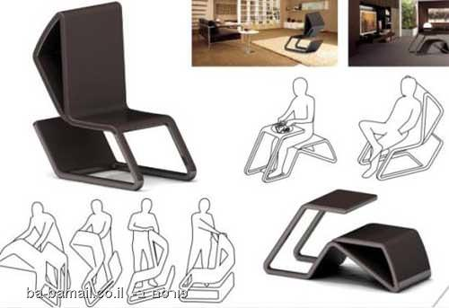 רהיטים מדליקים שמתקפלים