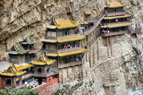 תמונות,סין, פלאי תבל, נזיר, מקדש, תיירות
