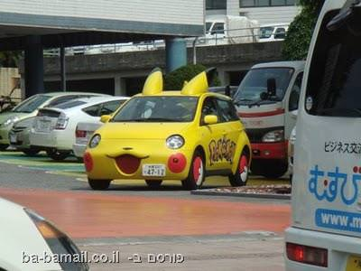 יפן, גאדג'טים, תמונות, מוזר, מכונית