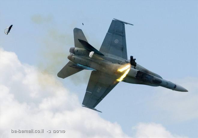 מטוס קרב, תאונה, תמונה, קנדה