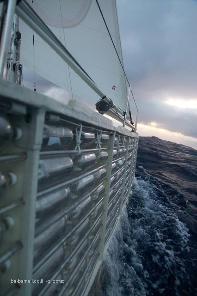 סירה, אוקיינוס, בקבוקי פלסטיק, תמונה, איכות הסביבה