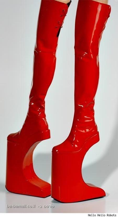 נעליים, מצחיק, עיצוב, תמונה