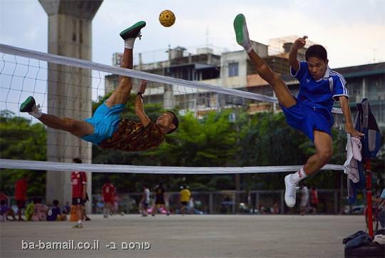 צילומי פעולה, תמונה, כדורגל עף, כדור רשת