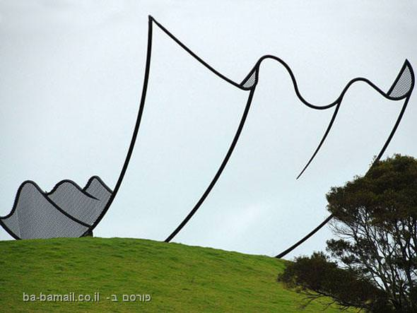 פסל, ממחטה, פסל מצויר, ניו-זילנד, ניל דוסון