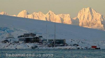אנטארקטיקה, שלג, קור, קרחון