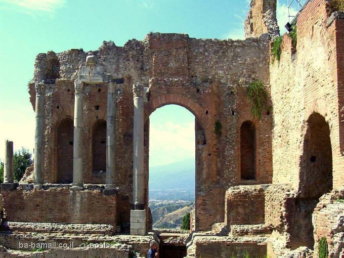 טאורמינה, סיצליה, תיאטרון יווני, תיאטרון עתיק, איטליה