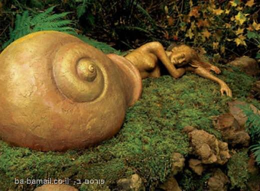 גן פסלים, גן פסלים מהאגדות, אוסטרליה, חילזון