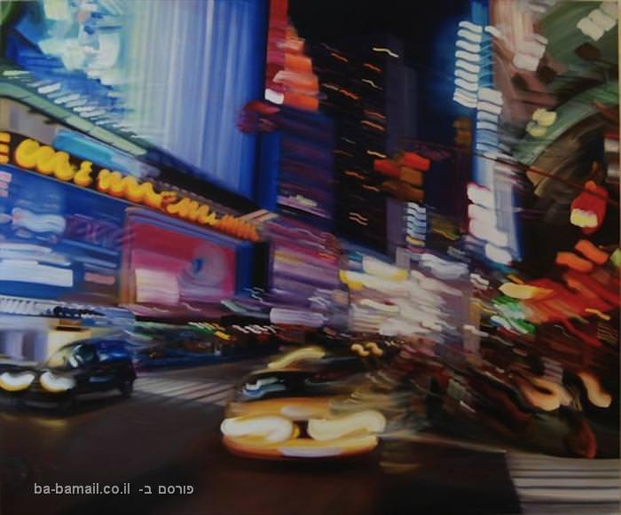 אלכסנדרה פקולה, ציורי שמן, ניו יורק