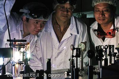 קרינת טרה-הרץ, מוקשים, מטעני צד, חיישן מוקשים, צוות החוקרים, מעבדה
