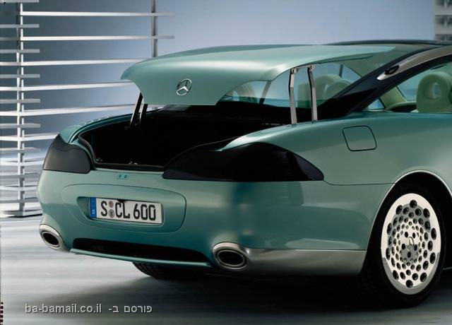 מרצדס, מרצדס SCL600, ג'ויסטיק, רכב ללא הגה, מכונית