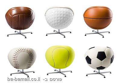 כורסא, ספורט, כסא נוח, הדום, כדורגל, כדורסל, גולף