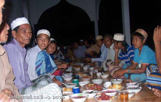צום, דת, איסלם, רמדאן, ארוחה
