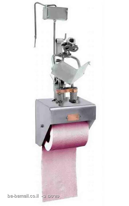 מתקני נייר טואלט, שירותים, רובוט, נייר טואלט