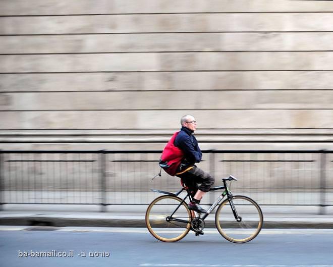 קור, חורף, אופניים, מעיל