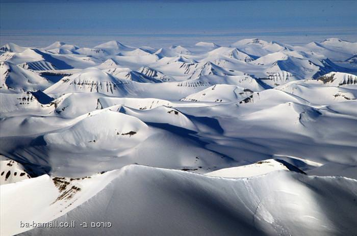 קרחון, קר, שלג, קרח,