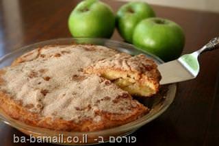 עוגת תפוחים, עוגה