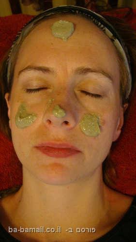 מסכת פנים, טיפול פנים, חימר, בנטוניט, עשי זאת בעצמך