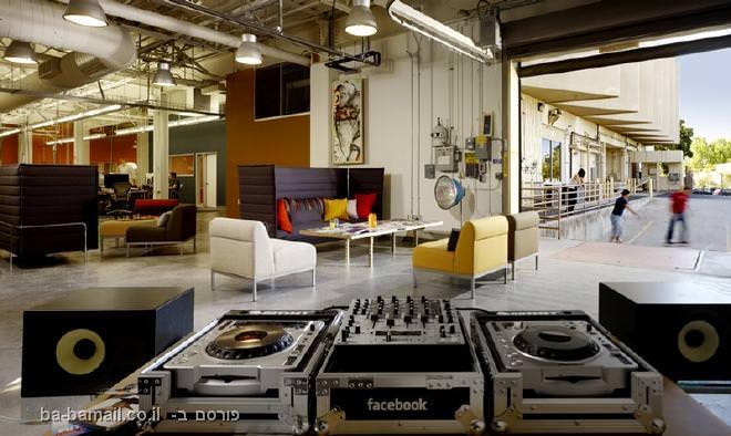 משרד, משרד מעוצב, פייסבוק, פאלו-אלטו, קליפורניה