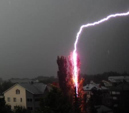 מכות ברק מוזרות