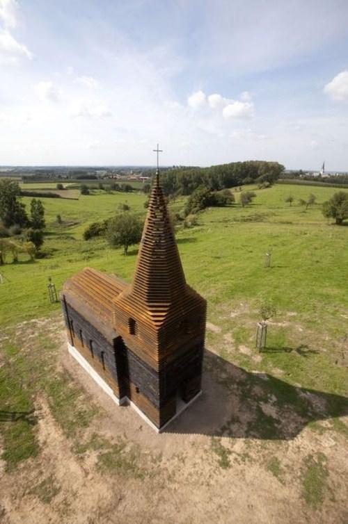 כנסיה מדהימה בבלגיה