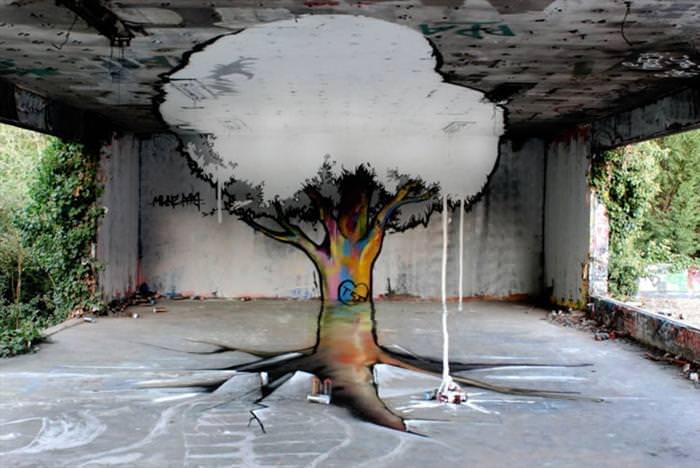 העץ המשוגע