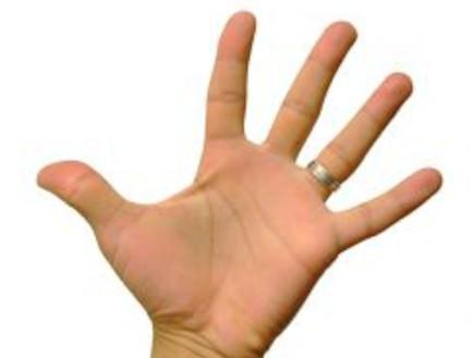 אצבעות ידיים