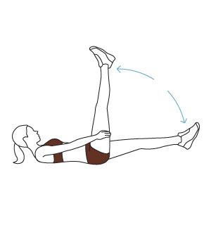 תרגילים לחזוק בטן תחתונה