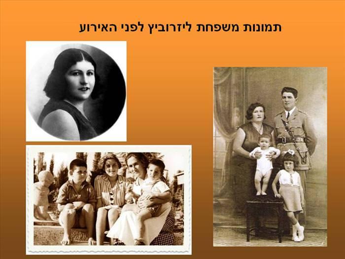 פרשת יפרח ליזרוביץ ומשפחתו