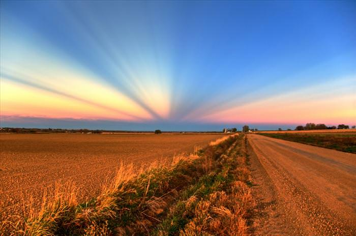 כשהשמש שוקעת, יופיו של הטבע זורח - תמונות מדהימות! (לעבור)
