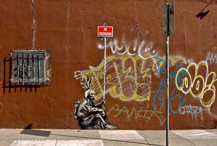 בנקסי: גדול אומני הגרפיטי בעולם (בעריכה)