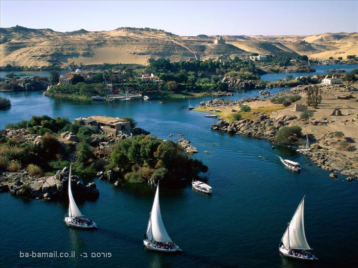 הנהרות החשובים בעולם