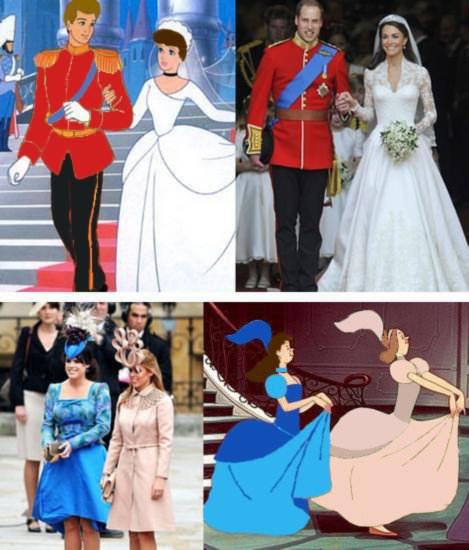 כנראה שבאנגליה באמת הלכו על חתונה מהאגדות