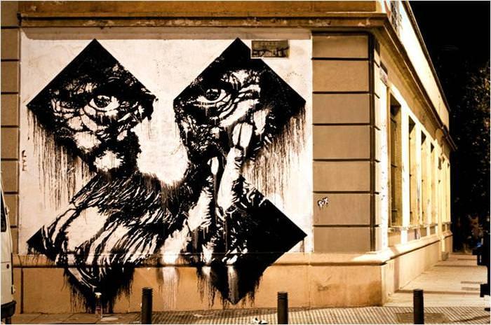 ציורי קיר ואמנות רחוב - מהמם!