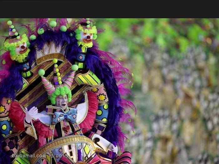 קרניבל ריו - חגיגה של צבע ותנועה! (בעריכה)