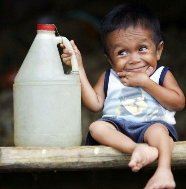 כמו גדול: האופטימיות המדהימה של האדם הנמוך בעולם