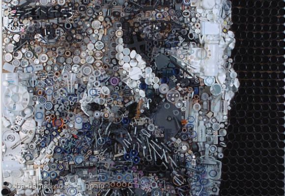 אמנות עם זבל